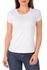 Camiseta Feminina Liso 100% Algodão - Branca