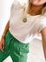 Blusa Muscle Loren Branca