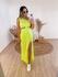 Vestido Aurora Amarelo Neon