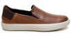 Tênis Casual Masculino Slip-on CNS 404508 Whisky