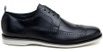 Sapato Casual Masculino Derby CNS Brogue 163085 Preto