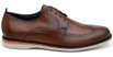 Sapato Casual Masculino Derby CNS Brogue 163085 Whisky
