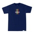 Camiseta Sigilo Colors Stripes Marinho