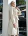 Trench Coat Botão Off-White Feminino