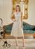 Vestido de Couro Feminino Nude Valentina