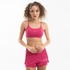 Short Duplo Feminino Run Collors - Rosa Pink