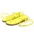 Papete Cora Rasteirinha Lemon