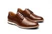 Sapato Casual Armand Marrom em Couro