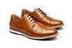 Sapato Casual Bernard Whisky em Couro