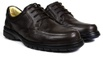 Sapato Casual Conforto Couro Floater Café 3050