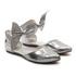 Sapato Maxxi Bow Prata Infantil Gats