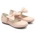 Sapato Boneca Laço Nude Infantil Gats