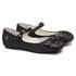 Sapato de Laço Veludo Poa