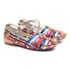 Sandália Tiras Coloridas Metalizada Gats
