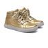 Tênis Sneaker Dourado