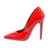 Sapato Feminino Scarpin Verniz Vermelho