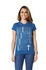 Camiseta Baby Look Boas Coisas Azul
