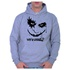 Moletom Unissex Coringa Why So Serious - Cinza