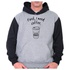 Moletom Unissex First I Need Coffee - Raglan