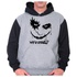 Moletom Unissex Coringa Why So Serious - Raglan