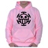 Moletom Unissex One Piece - Rosa
