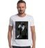 T-shirt Camiseta Lobo Óculos Branco