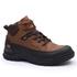 Bota Coturno Adventure Gogowear 100% Couro ref Tiger cor Preto c/ Castor