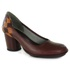 Sapato Em Couro Lolla Alto Vermelho J.Gean