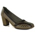 Sapato Ibizza Em Couro Taupe J.Gean