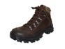 Bota Coturno Adventure em couro Mega boots 17003 Café