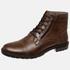 Bota Urbana em Couro Mega Boots Chocolate 50003