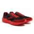 Tênis Esportivo Masculino Preto-Vermelho Sola Vermelha 510