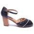 Sapato Feminino Quebec Retrô Sophia Blue
