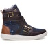Tênis Sneaker Feminino Rock Fit The Clash Café e Jeans