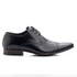 Sapato Masculino Social Preto em Couro de Amarrar