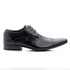 Sapato Social Preto em Couro de Amarrar