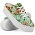 Mule Plataforma Mr. Gutt Feminino Estampado Tropical