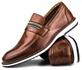 Brogue Premium Couro Comfort Castor Andora 8000