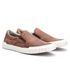 SLIP ON IATE CASUAL COURO MASCULINO - WHISKY