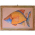 Quadro de Peixe IV - Papel Machê