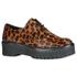 Sapato Oxford Fridda Pelo Onça Em Couro