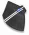 Respirador Infantojuvenil Descartável PFF2 (S) - preto - Kit com 10 un.