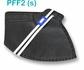 Respirador Descartável Tipo PFF2 (S) Preto - Kit com 10 un.
