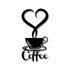 Escultura de Parede Coffe