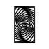 Escultura de Parede Ilusão Olho
