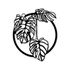 Escultura de Parede Folhas Costela de Adão