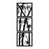 Kit Esculturas de Parede Bambu