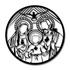 Escultura de Parede Vitral