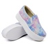 Slip On Liso Sola Alta Tie Dye DKShoes