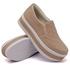 Slip On Matelassê Sola Alta Rosê DKShoes